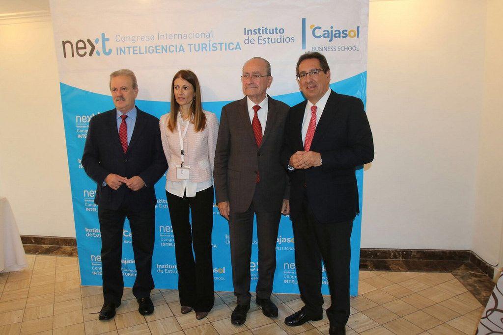 Antonio Pulido en el II Congreso Internacional de Inteligencia Turística en Málaga