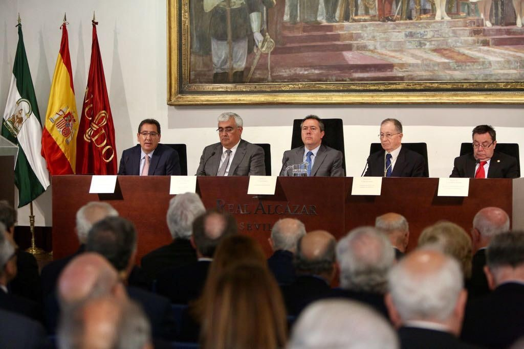 Antonio Pulido en el Día del Instituto de Academias de Andalucía