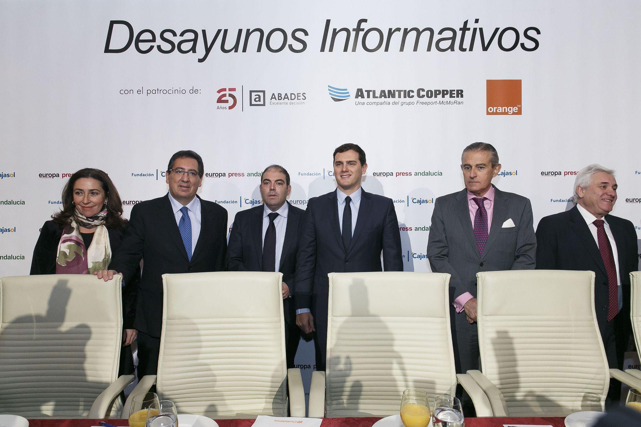 Desayunos de Europa Press Andalucía en la Fundación Cajasol, con Lorenzo Amor, Presidente de la ATA