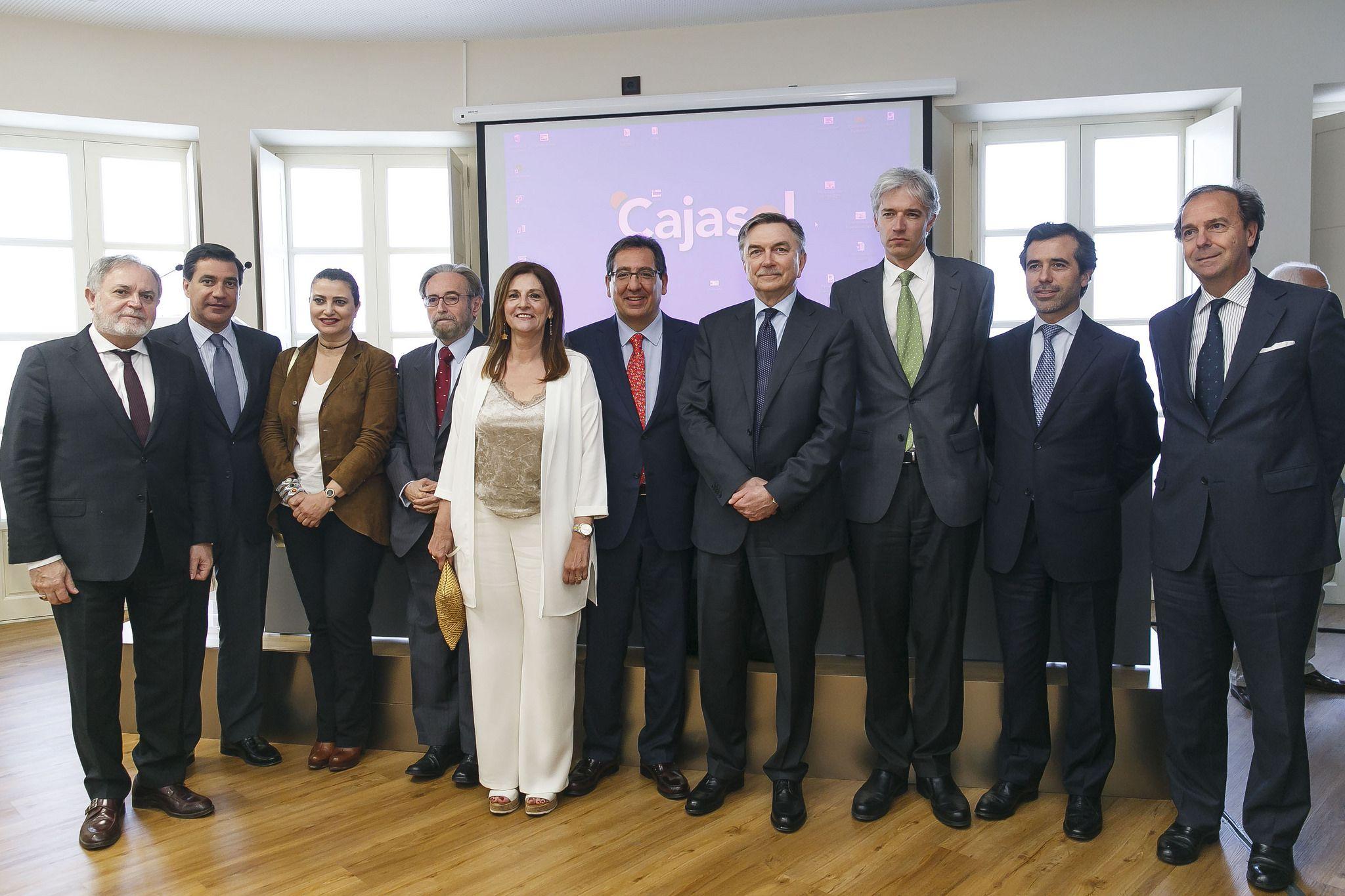 Antonio Pulido en el Encuentro con el Embajador de la Federación Rusa en la Fundación Cajasol
