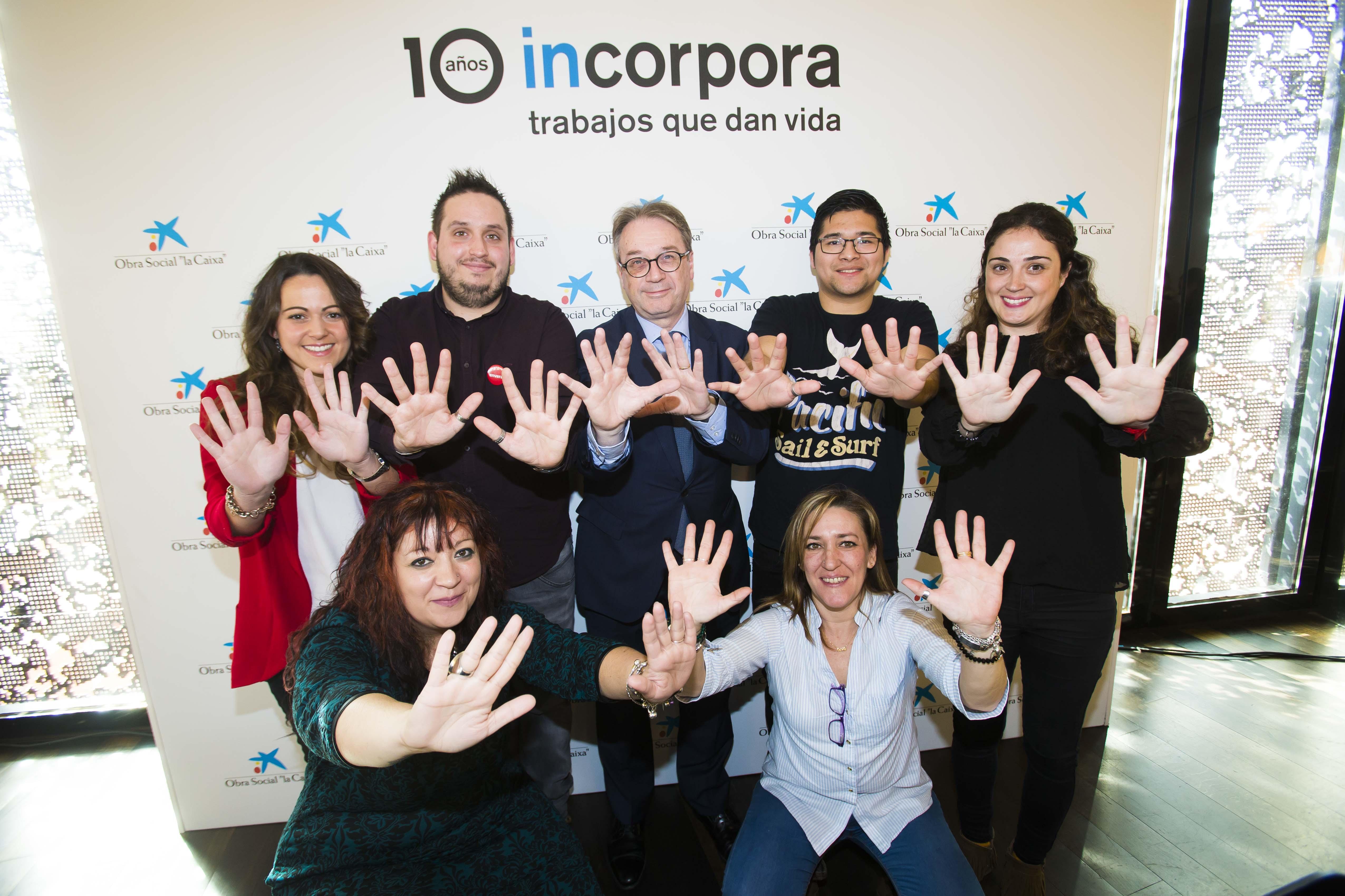 Obra Social la Caixa y Fundación Cajasol celebran el éxito del Programa Incorpora