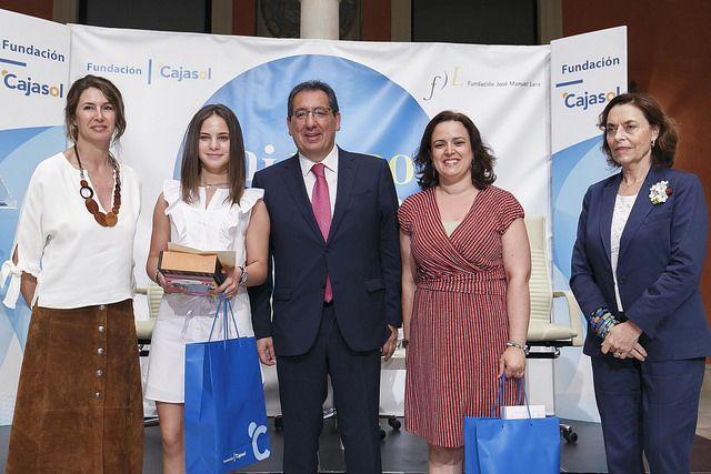 Entrega de premios 'Mi libro preferido', convocado por la Fundación Cajasol y la Fundación José Manuel Lara