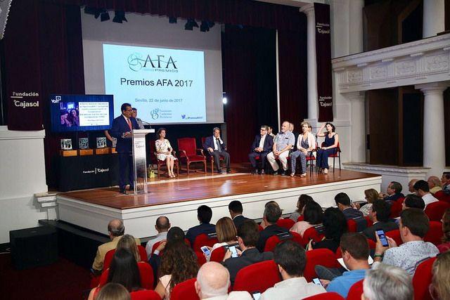 La Asociación de Fundaciones Andaluzas entrega sus Premios 2017