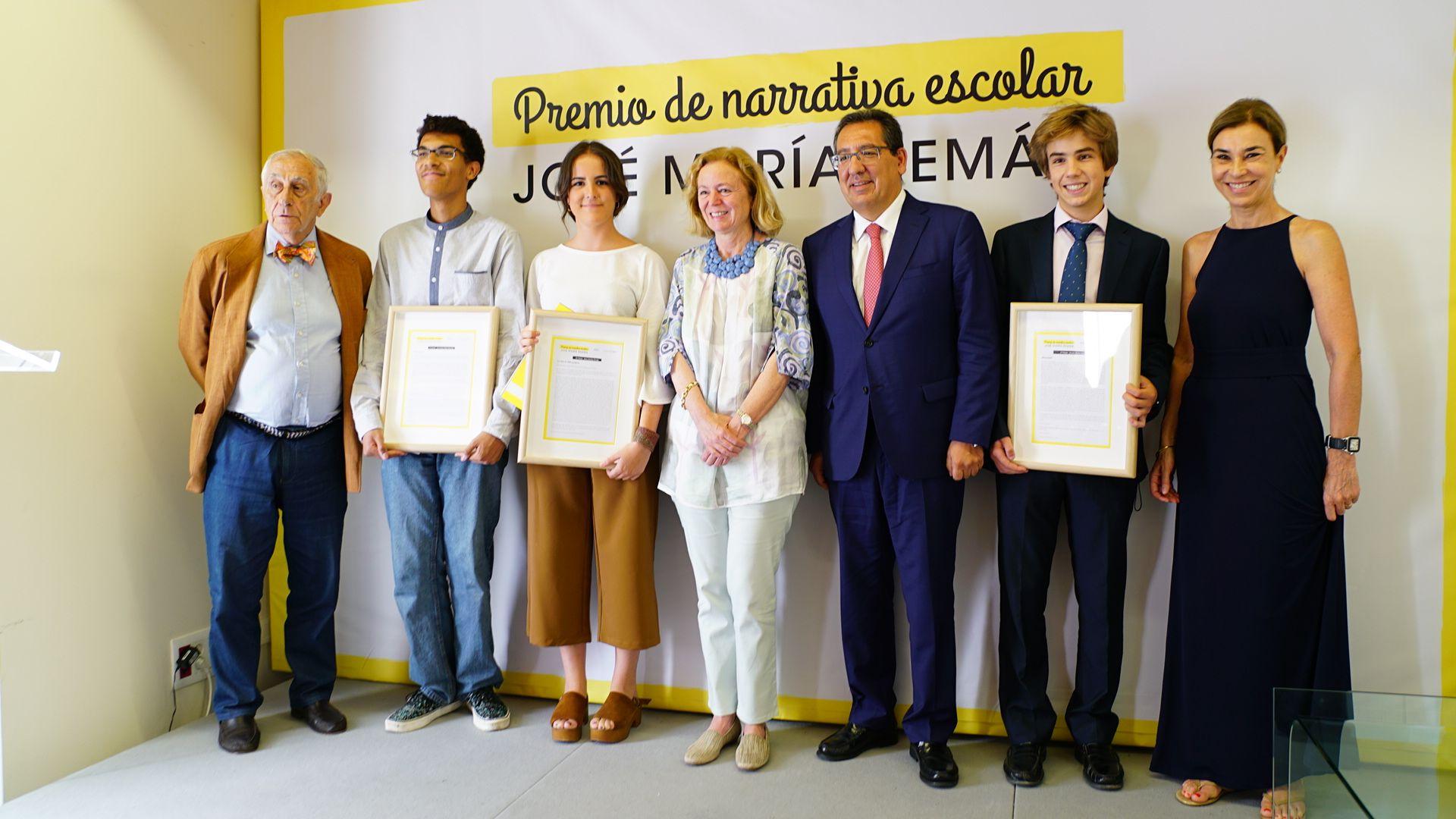 Entrega II Premio José María Pemán de Narrativa Escolar en la Fundación Cajasol en Cádiz