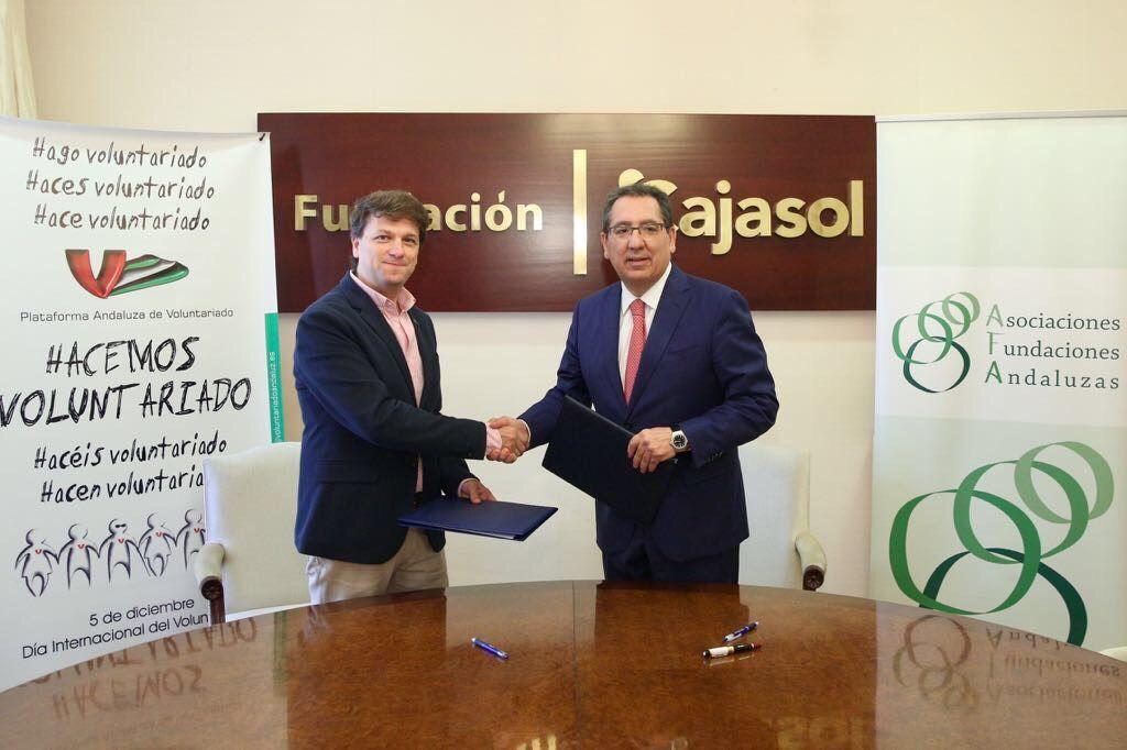 Asociaciones y Fundaciones Andaluzas (AFA) y la Plataforma Andaluza de Voluntariado (PAV) colaborarán en el ámbito del asesoramiento y la formación