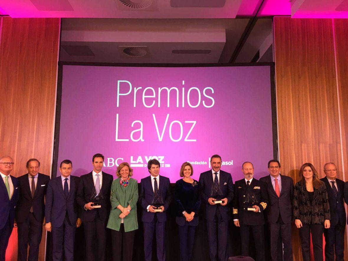 Este martes 7 de noviembre se ha celebrado el acto de entrega de los XII Premios LA VOZ en el Parador Hotel Atlántico de Cádiz.