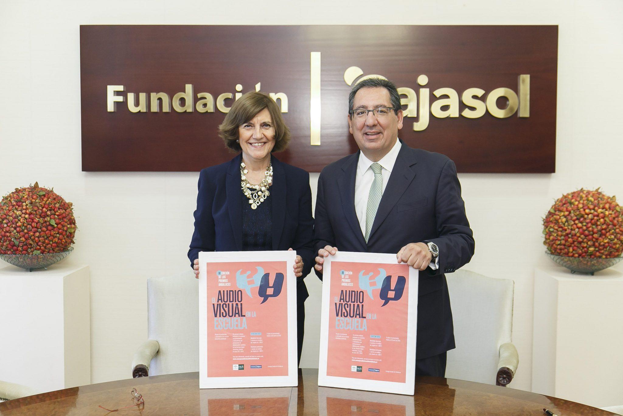 La Fundación Cajasol y el Consejo Audiovisual Andaluz ponen en marcha la IV Edición de los Premios El Audiovisual en la Escuela