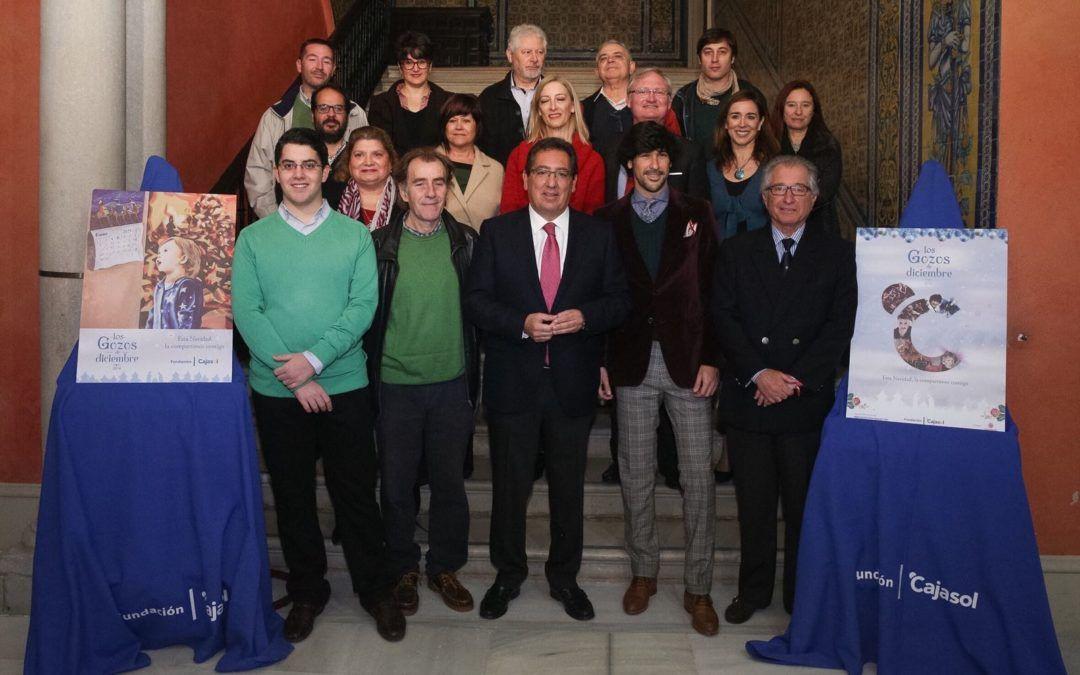 La Fundación Cajasol presenta la programación navideña dentro de los Gozos de diciembre 2017