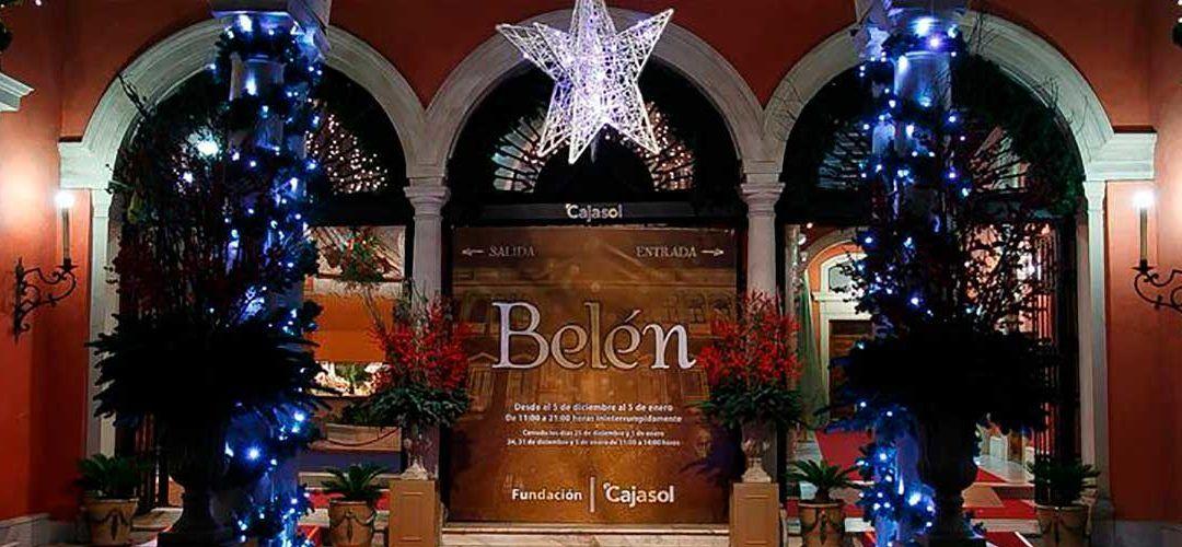 Mañana se presentará el Belén de la Fundación Cajasol y la nueva experiencia virtual que se ofrece de forma paralela a las visitas al Belén.