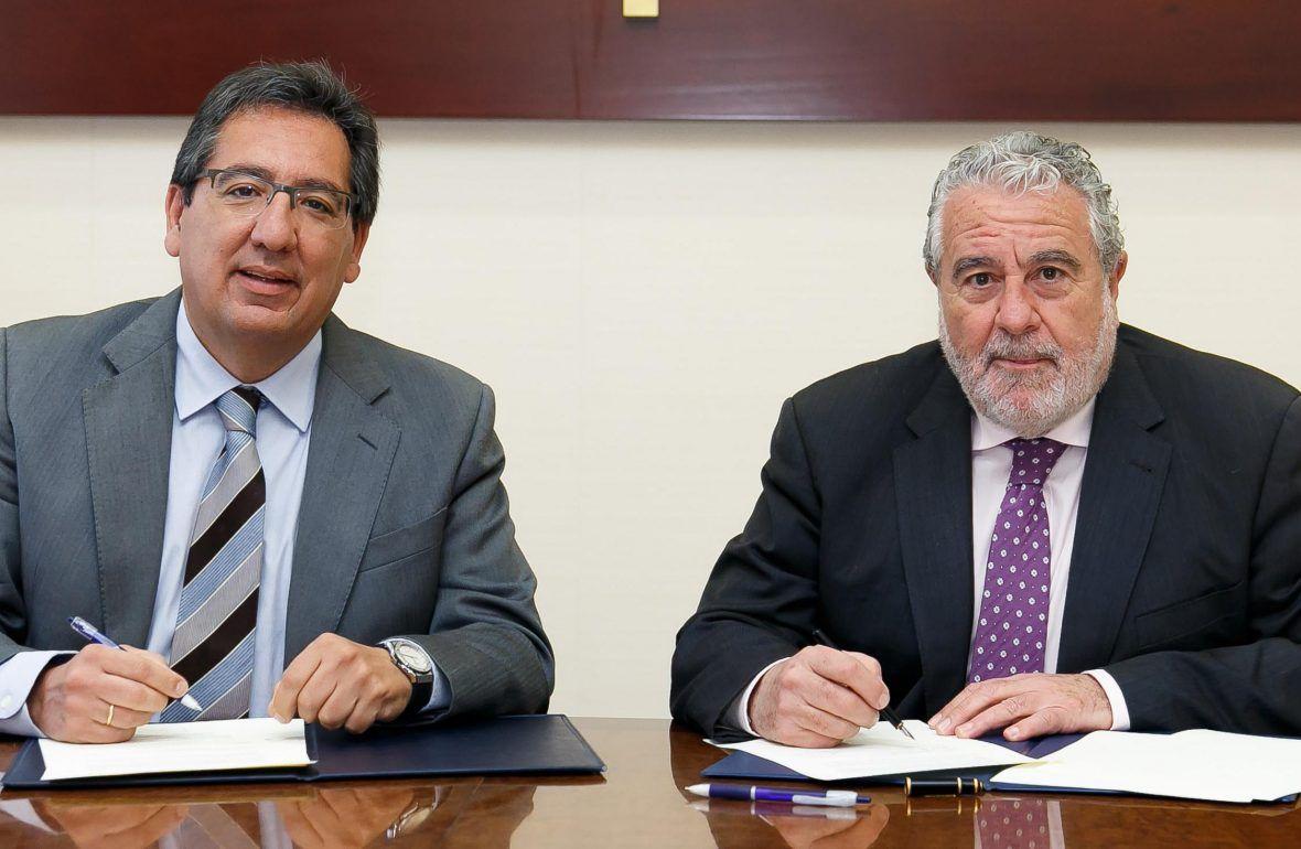 Fundación Cajaso y RTVA han firmado la renovación del acuerdo que cada año ponen en marcha para trabajar de la mano e impulsar iniciativas en común.