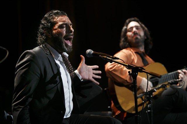 Antonio Reyes y Pedro 'El Granaíno' abren la primavera de los Jueves Flamencos y estarán mañana en el tradicional encuentro previo al espectáculo.