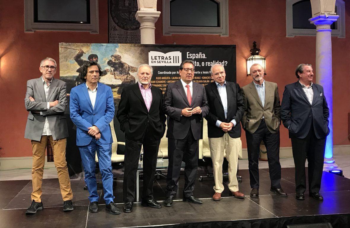 La Fundación Cajasol acoge este martes la segunda jornada del ciclo Letras en Sevilla III, titulado 'España, ¿Mito, o realidad? con ponentes de renombre.