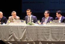 El alcalde de Almería en los Desayunos de Europa Press