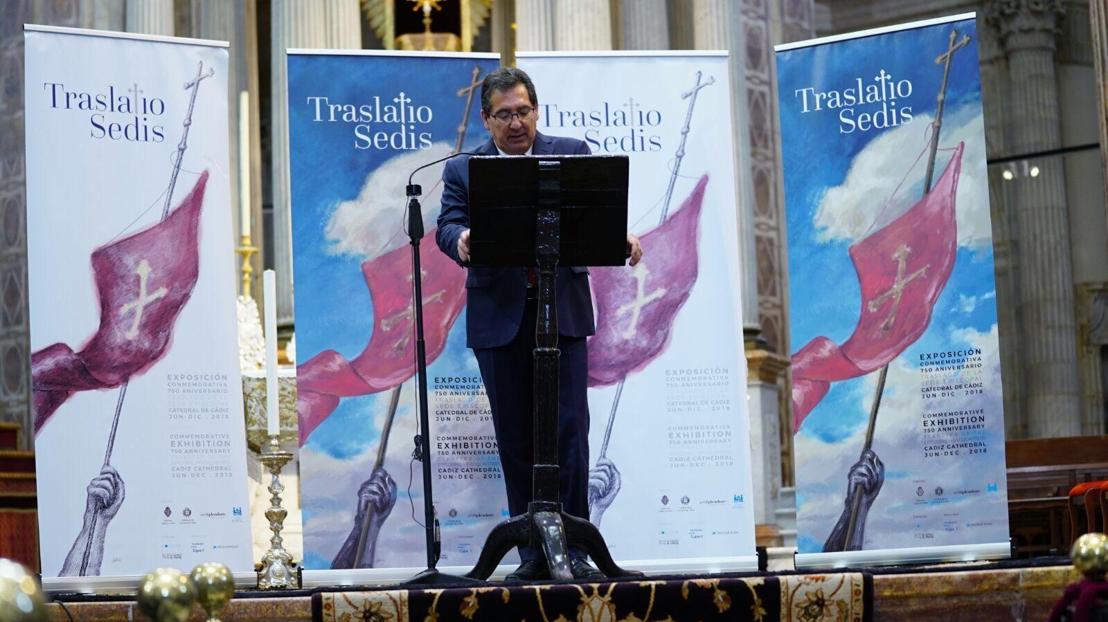 Hoy hemos inaugurado la exposición Traslatio Sedis, que conmemora el 750 aniversario del traslado de la sede episcopal de Medina Sidonia a Cádiz, con la participación de la Fundación Cajasol, la Diócesis de Cádiz y Ceuta, la Fundación las Edades del Hombre, CaixaBank y Artisplendore.