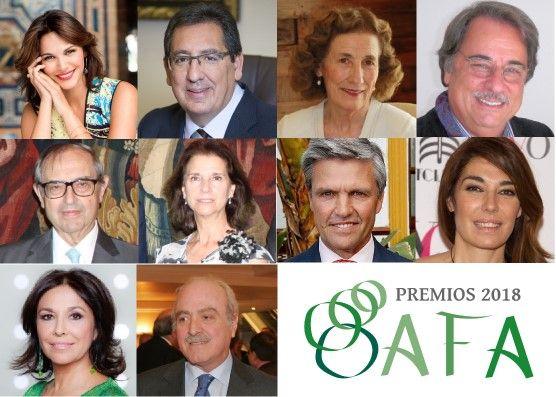 Jurado de los Premios AFA 2018