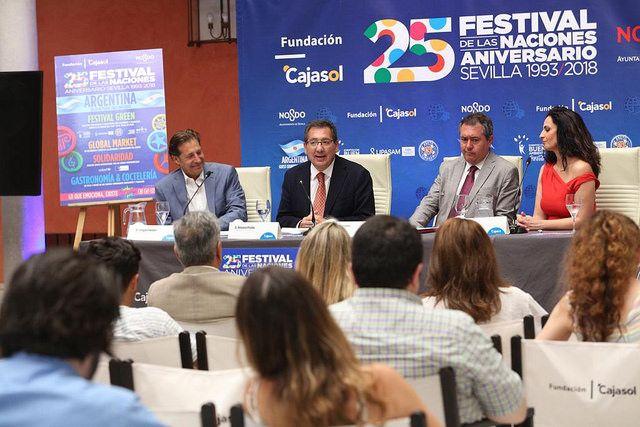 Festival de las Naciones 2018 en la Fundación Cajasol