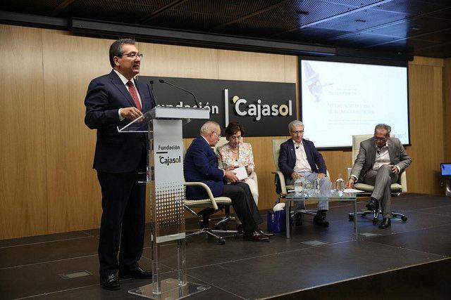 Antonio Pulido Gutiérrez en Fundacion Cajasol