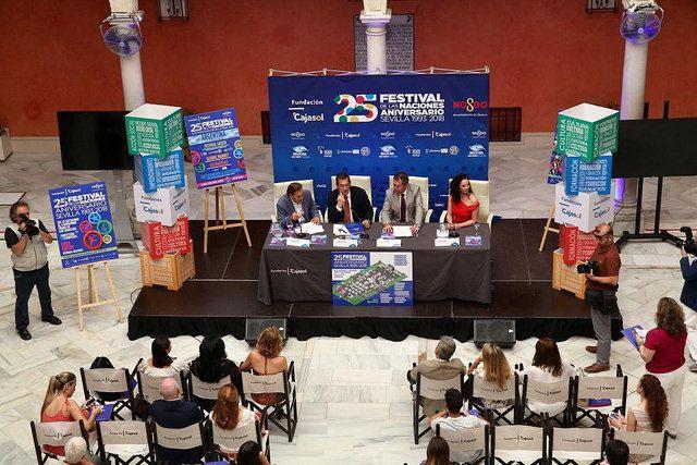 Fundación Cajasol. Presentación del Festival de las Naciones