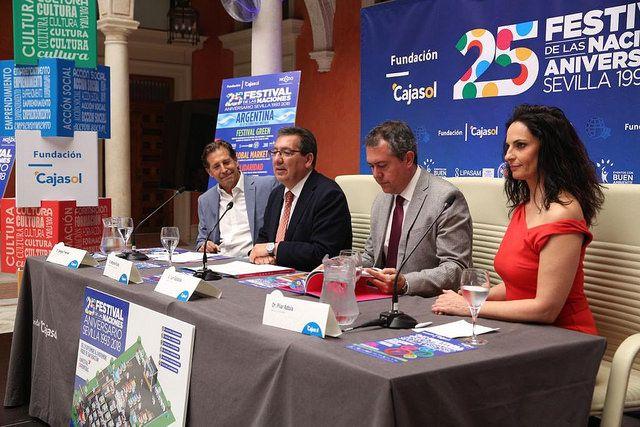 Rueda de prensa en la Fundación Cajasol