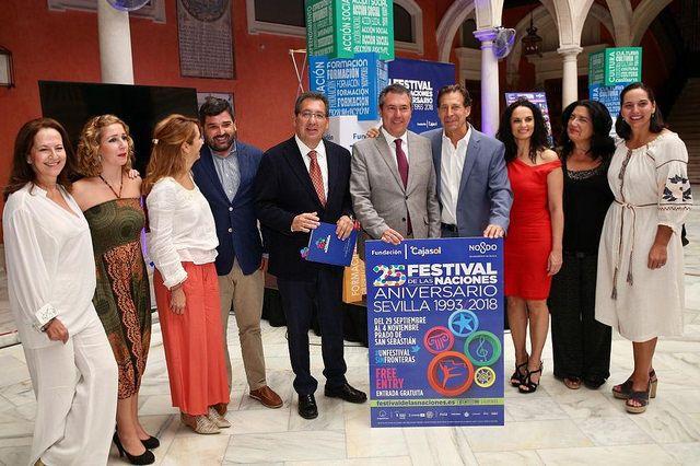El Festival de las Naciones 2018 se presenta hoy en la Fundación Cajasol