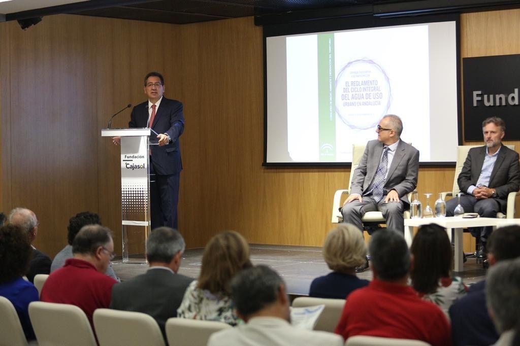 Fundacion Cajasol jornada ciclo integral del agua