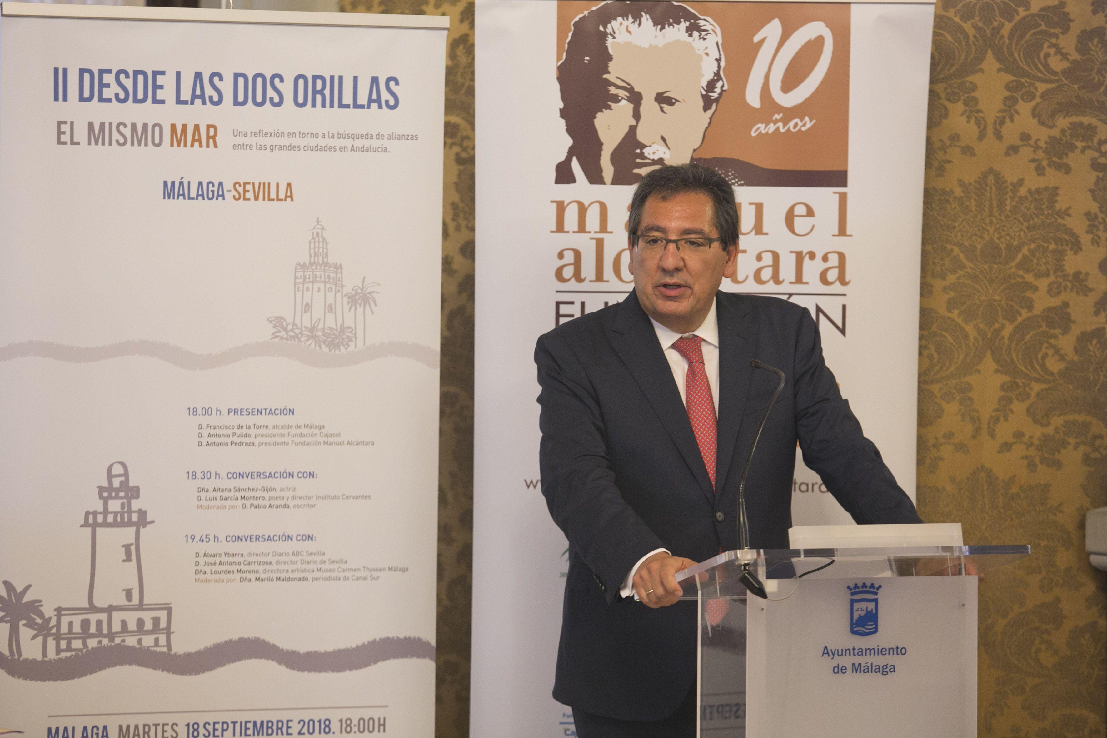 Antonio Pulido Gutiérrez en Las Dos Orillas