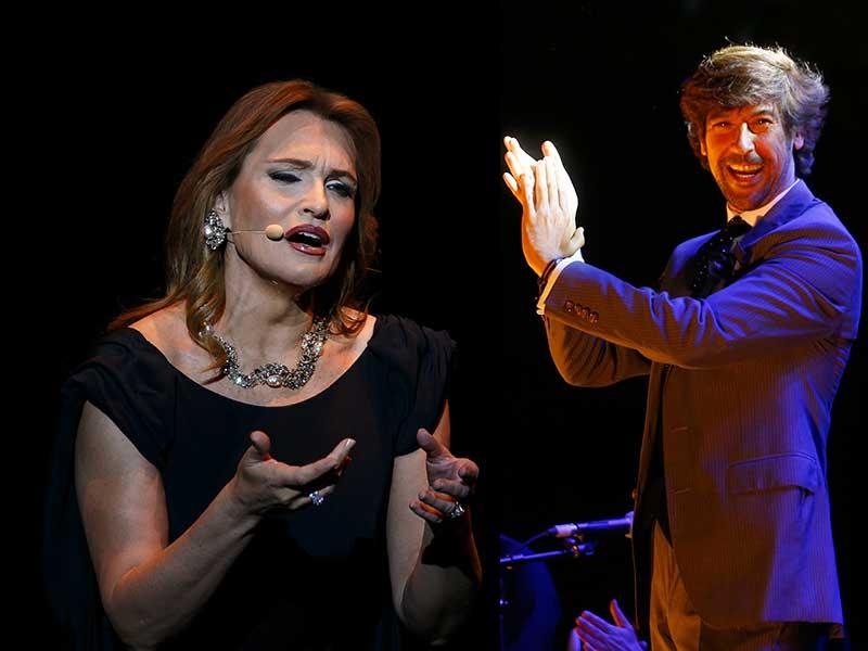 Ainhoa Arteta y Manuel Lombo protagonizarán '¡Que suenen con alegría! Gira Diciembre 2018', que se presentarán este miércoles en la Fundación Cajasol.