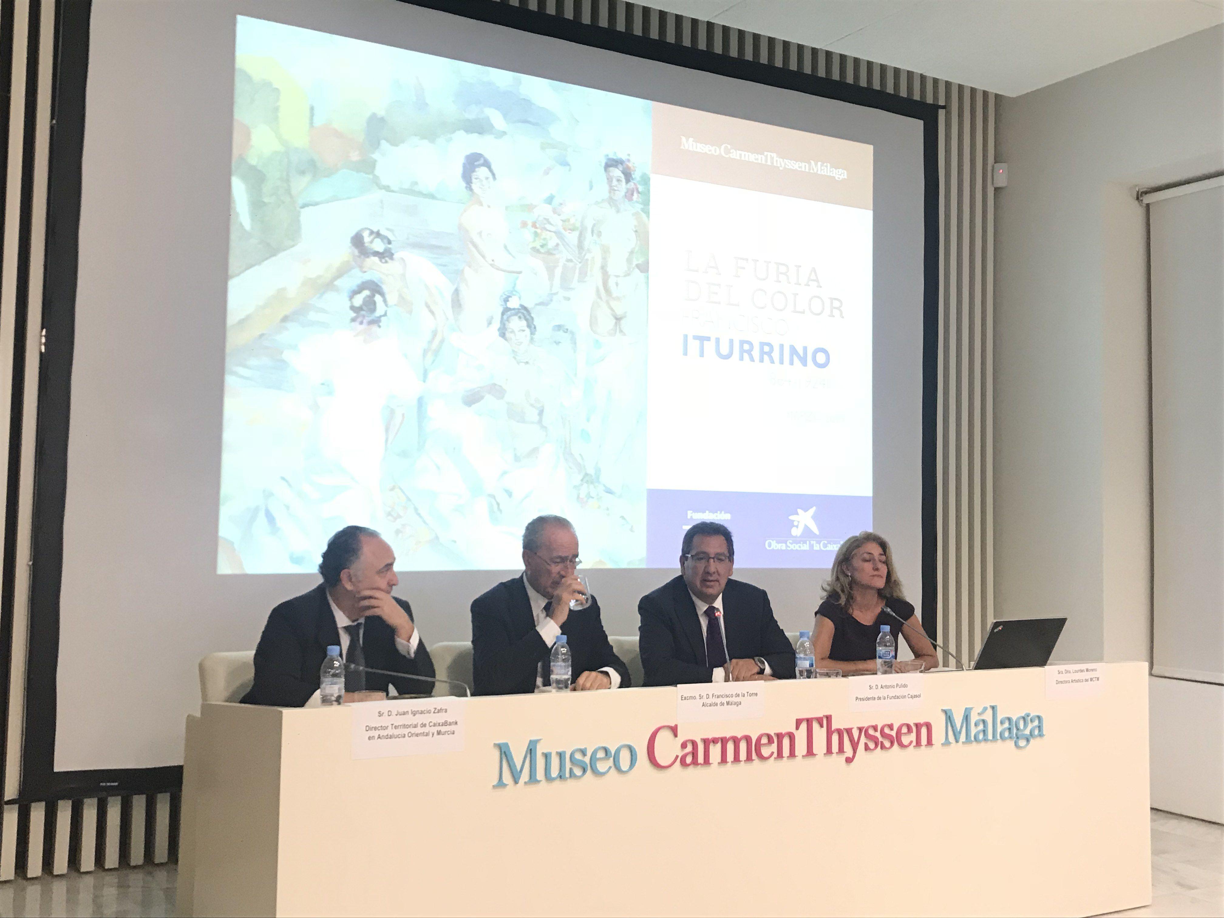 Obra Social la Caixa y Fundación Cajasol colaboran en exposición sobre Francisco Iturrino
