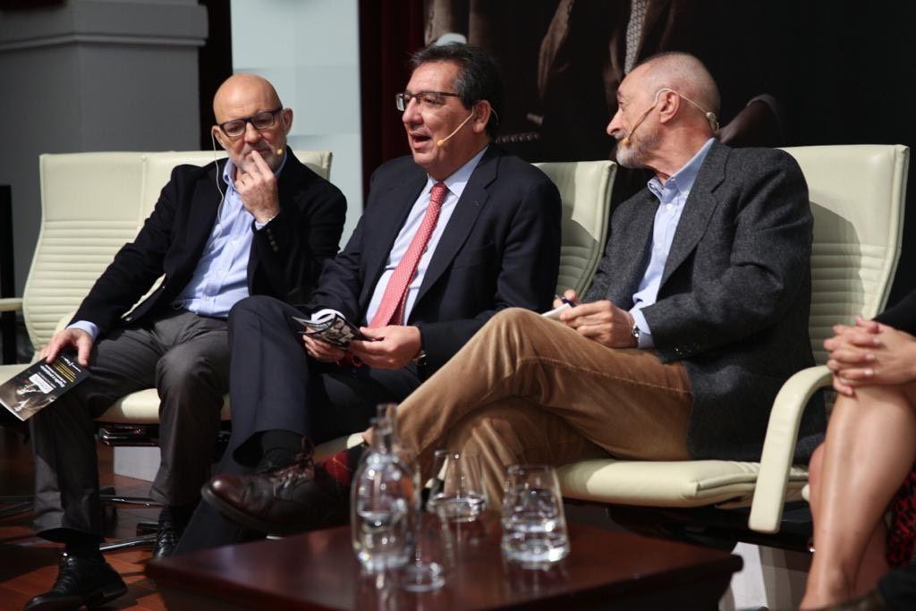 Jesús Vigorra, Antonio Pulido y Arturo Pérez-Reverte