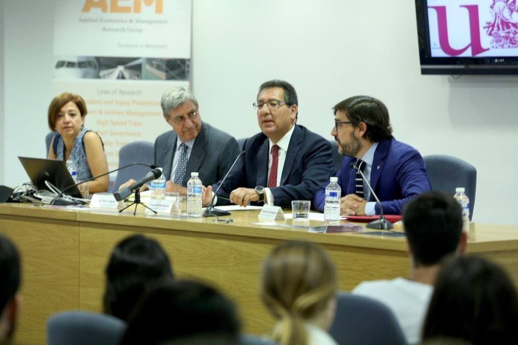 Crisis financiera y economía española en la Universidad de Sevilla