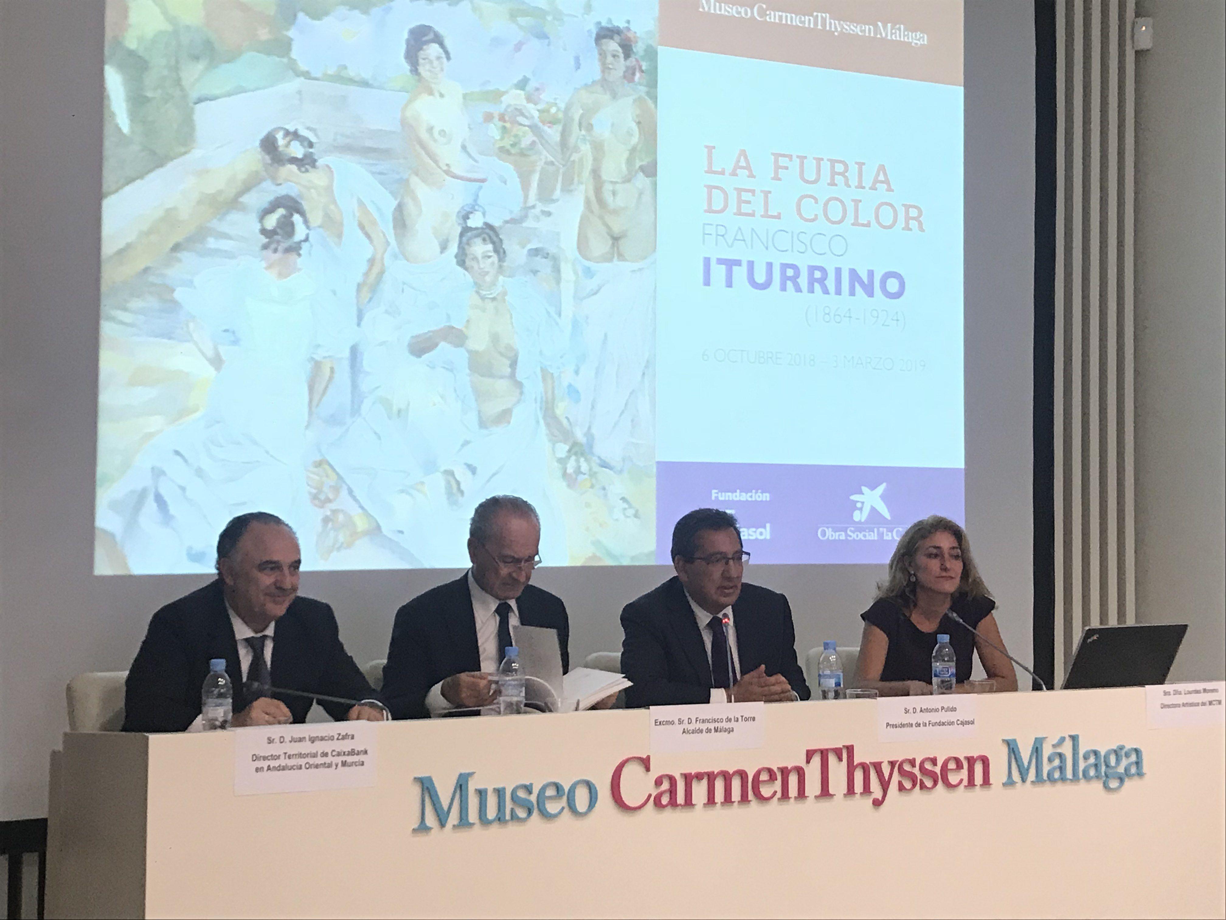 Museo Carmen Thyssen acoge exposición sobre Francisco Iturrino con colaboración de Cajasol y Caixa