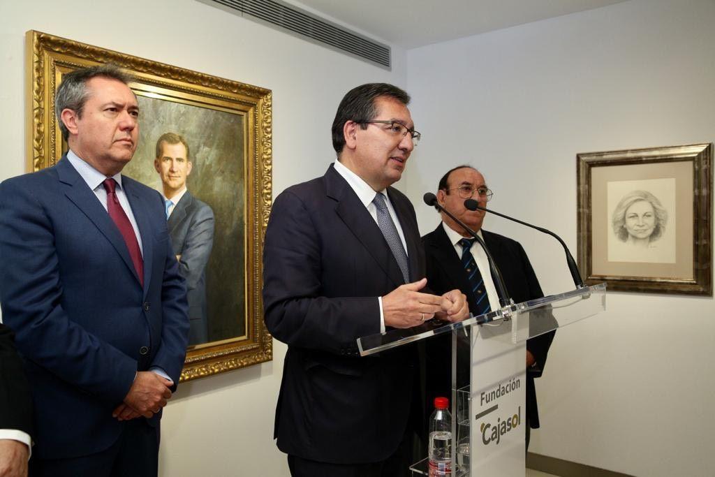 Cajasol acoge una exposición de Juan Valdés