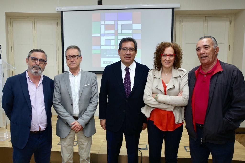 CCOO y la Fundación Cajasol dan visibilidad a los movimientos sociales que actuaron en Andalucía en el franquismo y la Transición