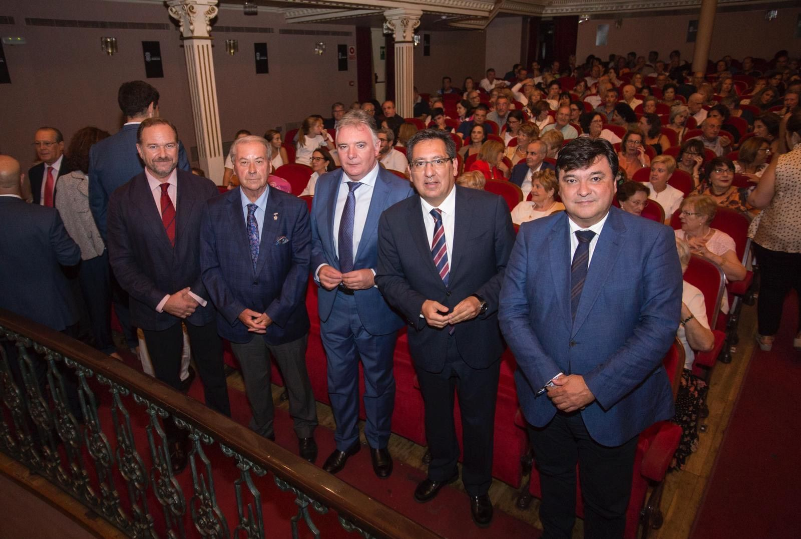 Antonio Pulido en la entrega de premios Buena Gente de Huelva