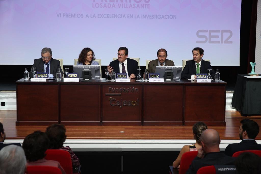 Premios Losada Villasante en la Fundación Cajasol