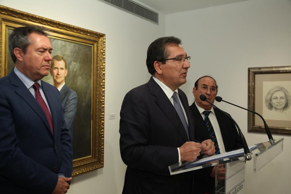 Retratos de Juan Valdés en Cajasol