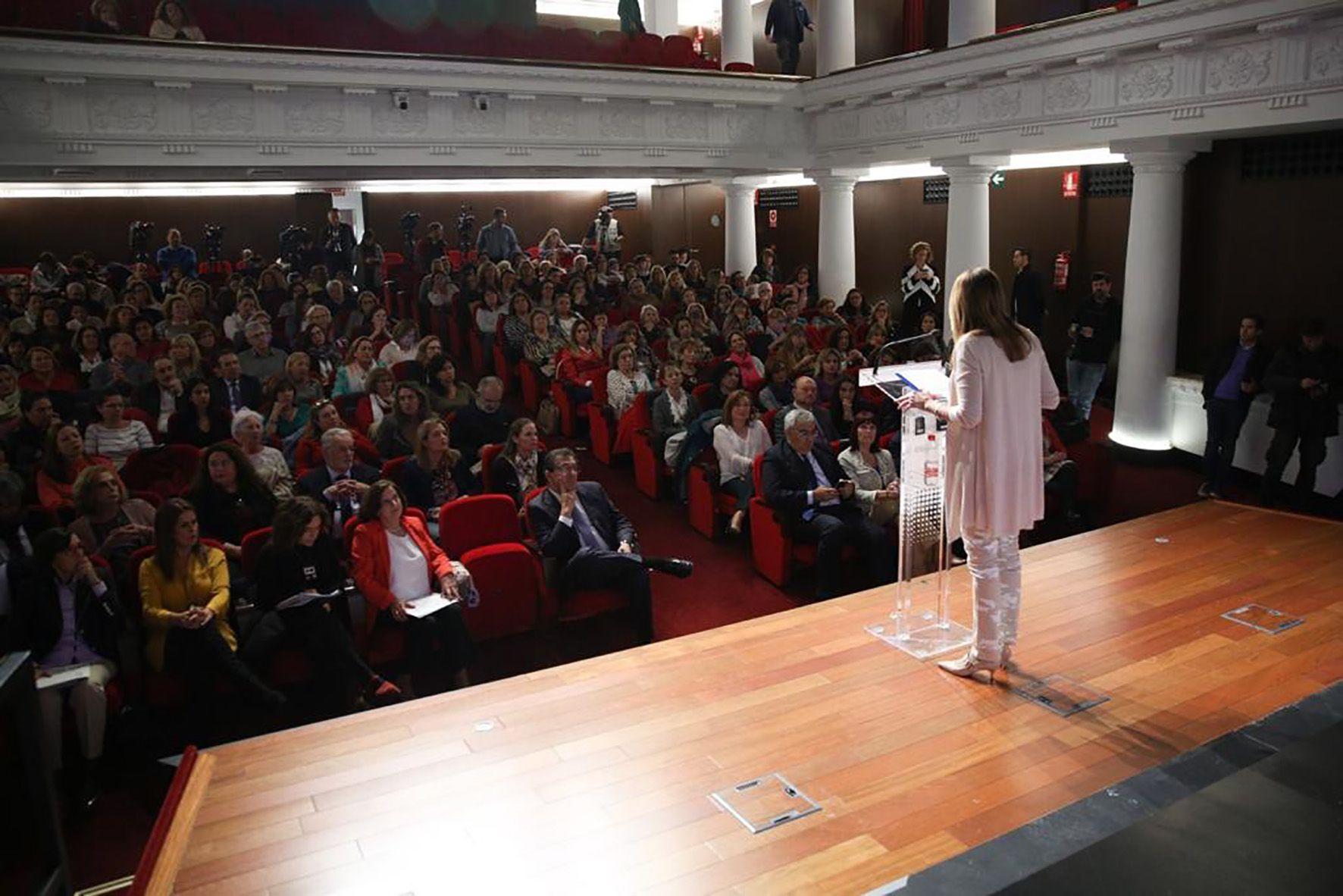 Susana Díaz presenta la Ley de Igualdad