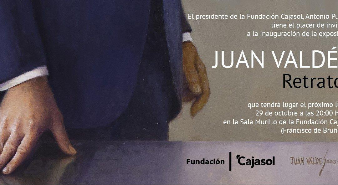 Retratos de Juan Valdés en la Fundación Cajasol