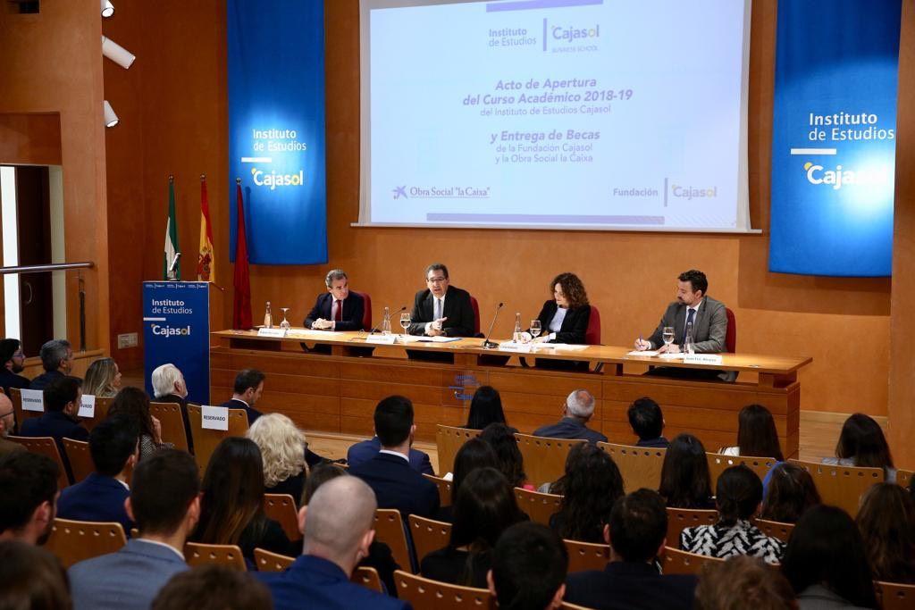 Apertura de Curso Académico Cajasol
