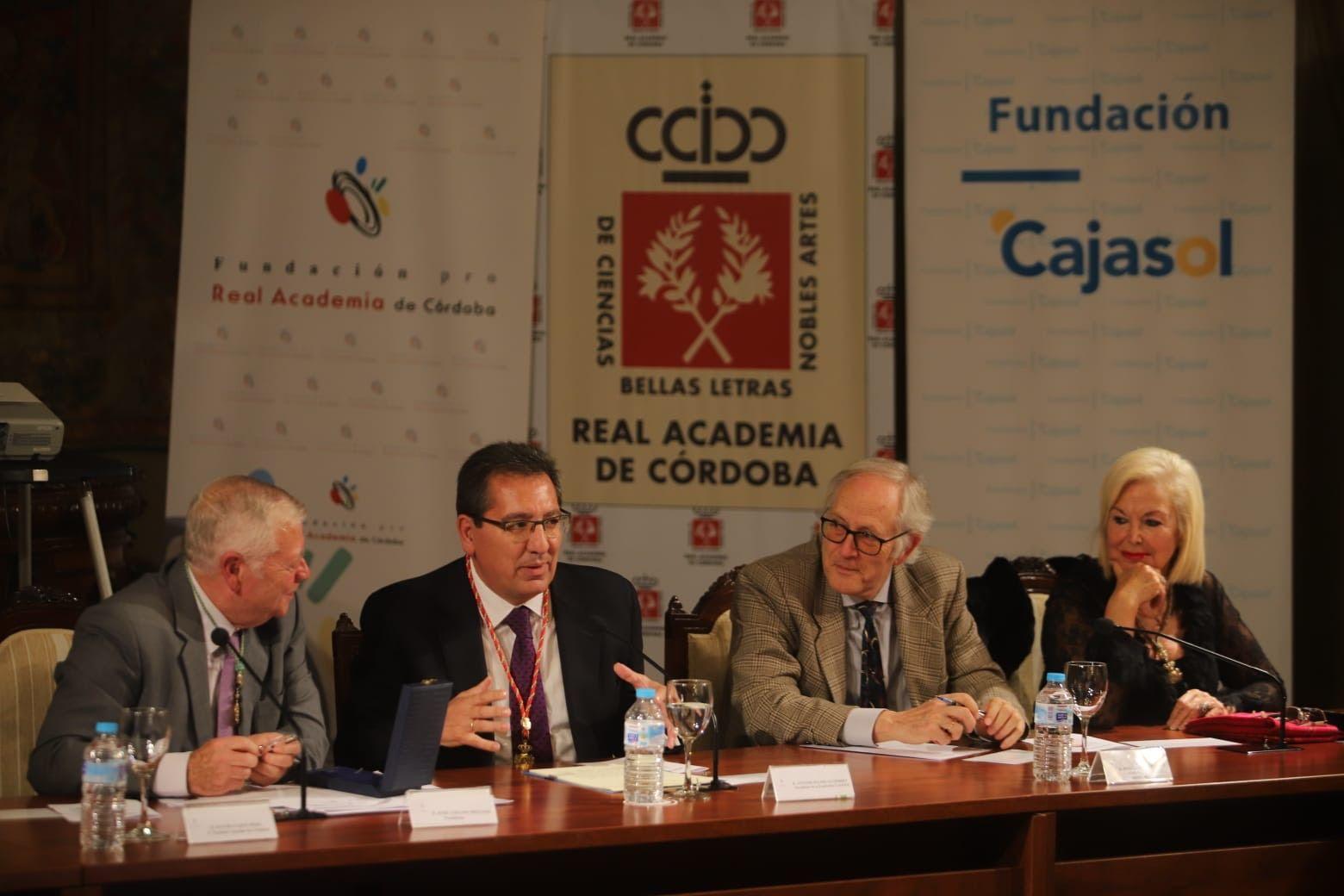 Apertura de curso de la Real Academia de Córdoba