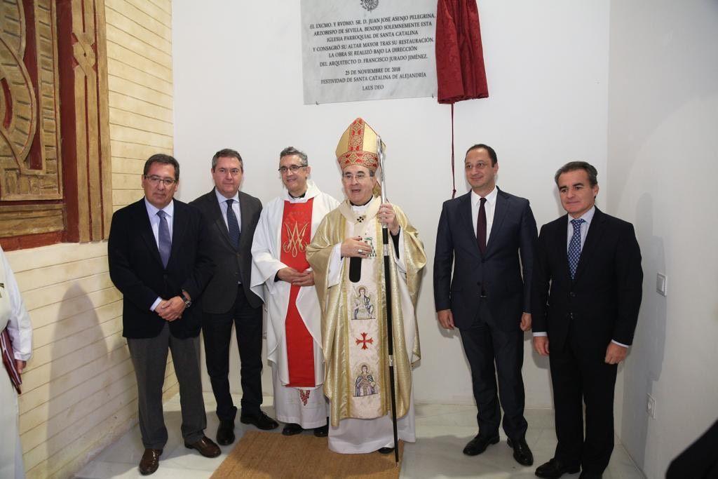 CaixaBank y Cajasol en Iglesia de Santa Catalina