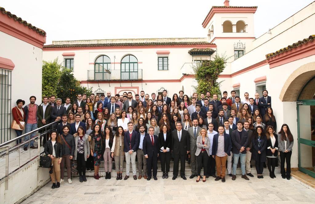 Ceremonia Apertura Curso Instituto de Estudios Cajasol