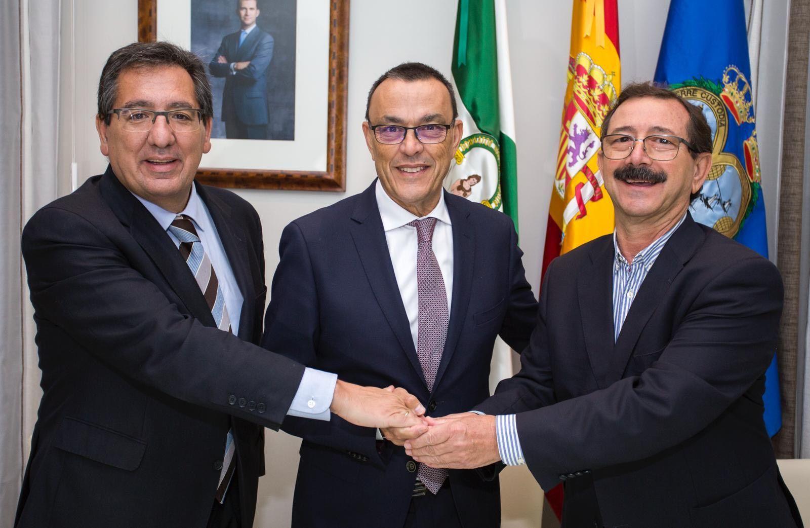 Diputación y Cajasol, con el Encuentro de Hermandades Rocieras