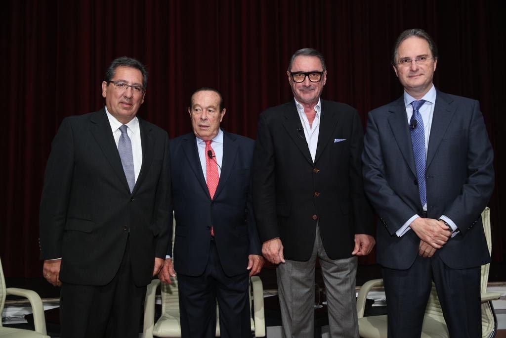 Fundacion Cajasol Mano a Mano Antonio Pulido Carlos Herrera