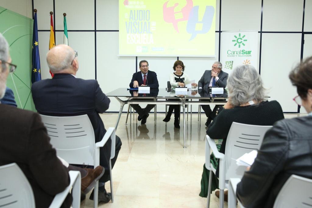 Antonio Pulido, Emelina Fernández Soriano y Joaquín Durán