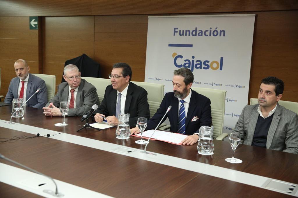 Presentación de actos en la Fundación Cajasol