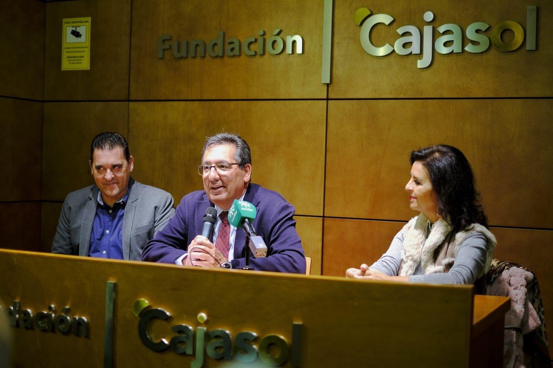 Antonio Pulido presenta la Navidad de Cajasol Cadiz