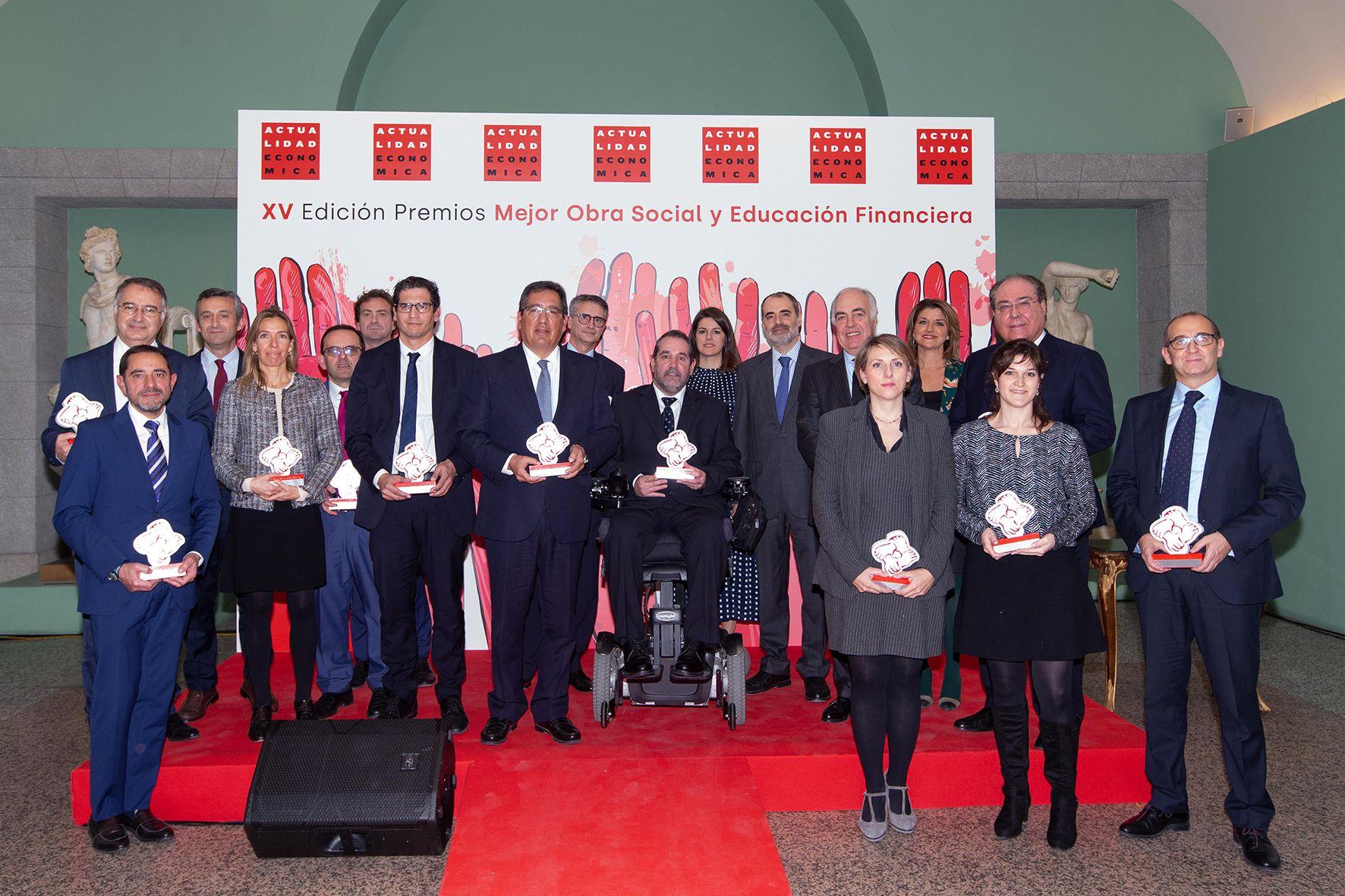 Cajasol en los Premios Actualidad Economica