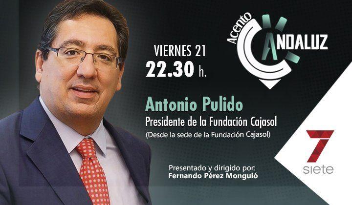 Cartel Acento Andaluz - Entrevista a Antonio Pulido