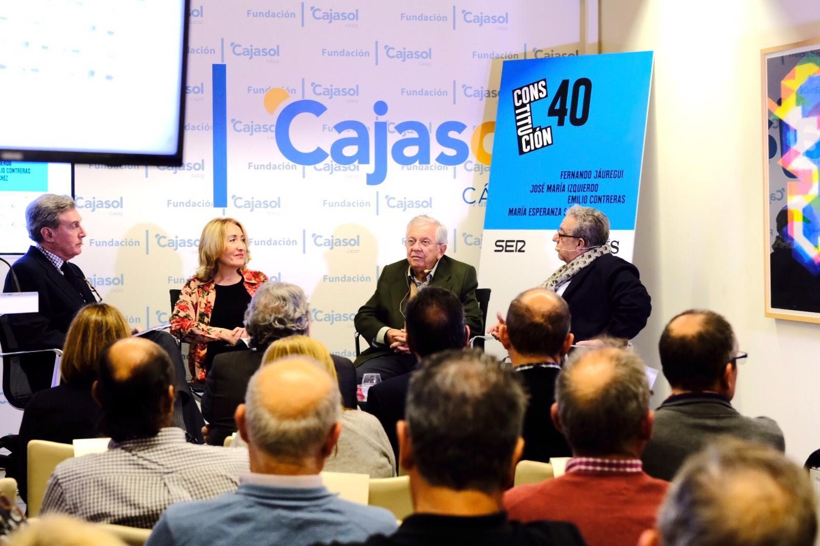 Fundacion Cajasol 40 años Constitucion